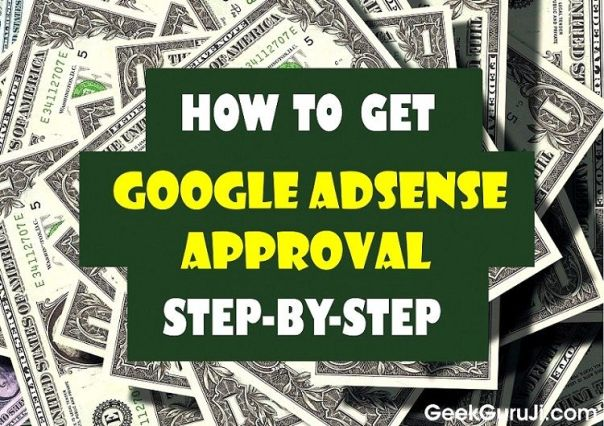 How to Get Google Adsense Approval in 1 minute-geekguruji