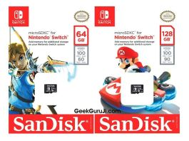 Switch Memory cards-geekguruji