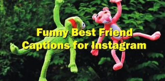 Funny best friend captions for Instagram