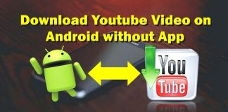 How to Download Youtube Video on Android without App