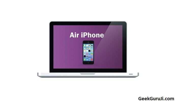 Air iPhone ios emulator windows pc