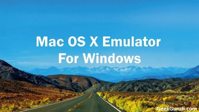 Mac OS X Emulator for Windows