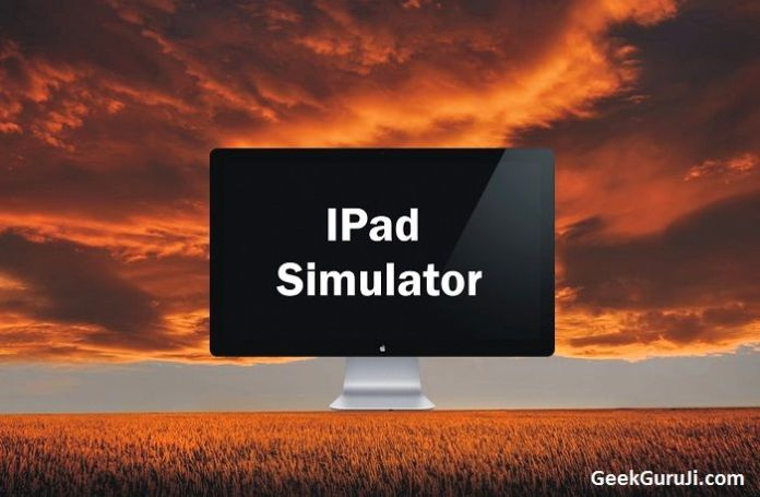 iPad Simulator windows pc