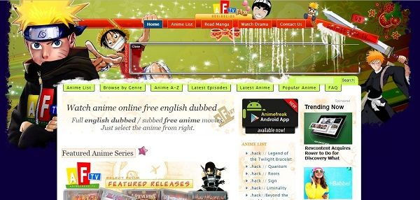 sites to watch anime for free