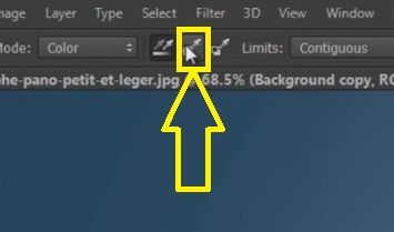 Change Background Color in Adobe Photoshop