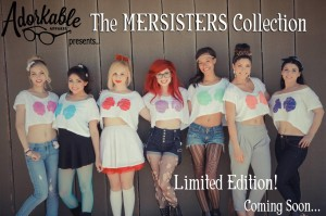 Mersisters of Adorkable Apparel