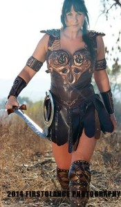 Xena Cosplay done right. Photo: First Glance Photography: https://www.facebook.com/FirstglancePhotography