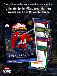 MarvelKids.com: Ultimate Spider-Man Character Guide