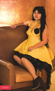 Photo: Metal Peach (www.facebook.com/metalpeach) Series: Sailor Moon Cassib - Luna