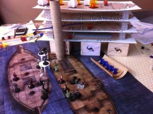 Dirigible & Ships