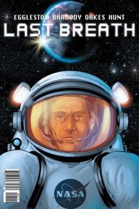 Last Breath cover: Jason Baroody, Mark McKenna and John Hunt.