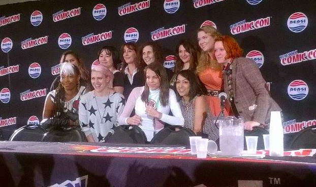 Women of Marvel NYCC Panel