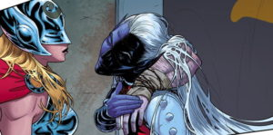 "Malekith's hair is ""off-putting, and it slithers around behind him."""