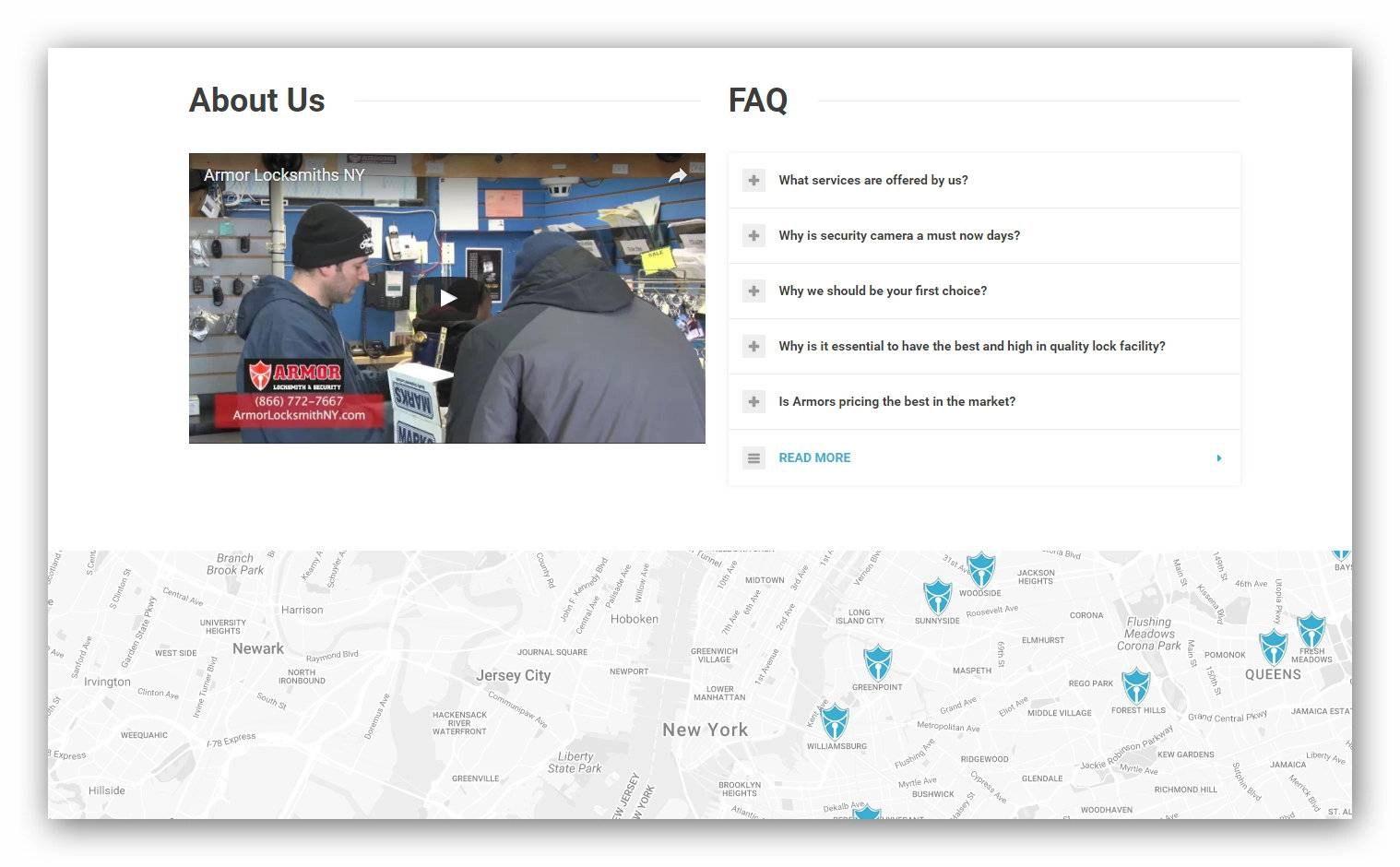 Design web site company for locksmith