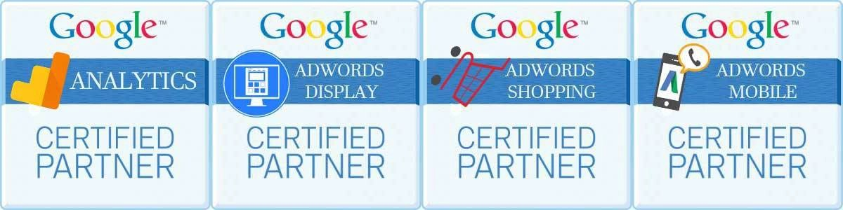 Google-Certifications-AdWords-Search-AdWords-Mobile-AdWords-Video-AdWords-Display-AdWords-Shopping-Google-Analytics