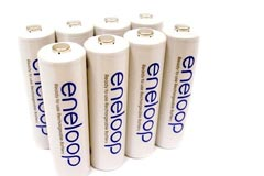 image of eneloop batteries
