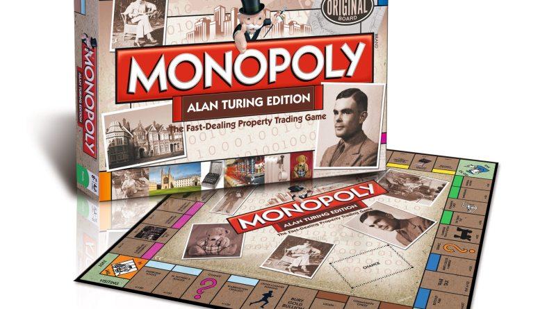 Alan Turing Monopoly set