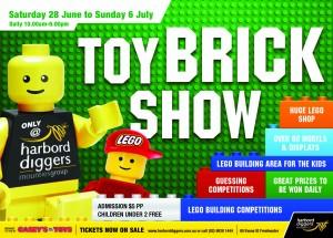 Diggers LEGO show