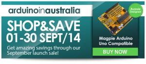 arduino in australia