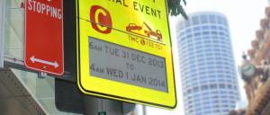 sydney e-ink sign