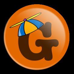 Big G Geek Button