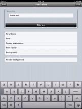 Create Theme uBooks xl iPad