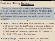 Text Selection in Tomes for iPad