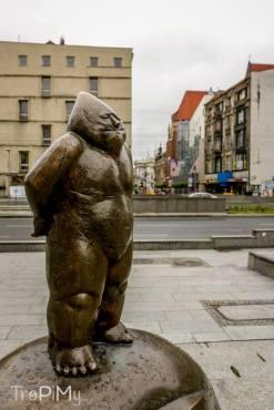 Wrocław - Pomnik Pomarańczowej Alternatywy