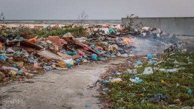 Wysypisko śmieci na Huraa