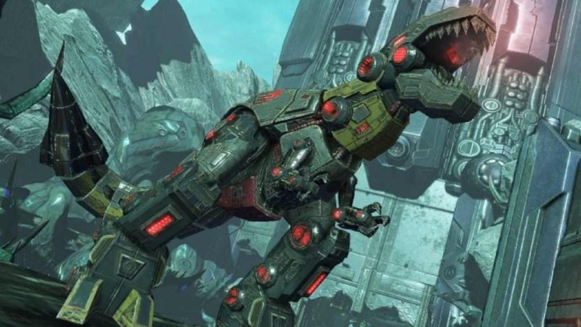 Transformers Grimlock Dinosaur Mode