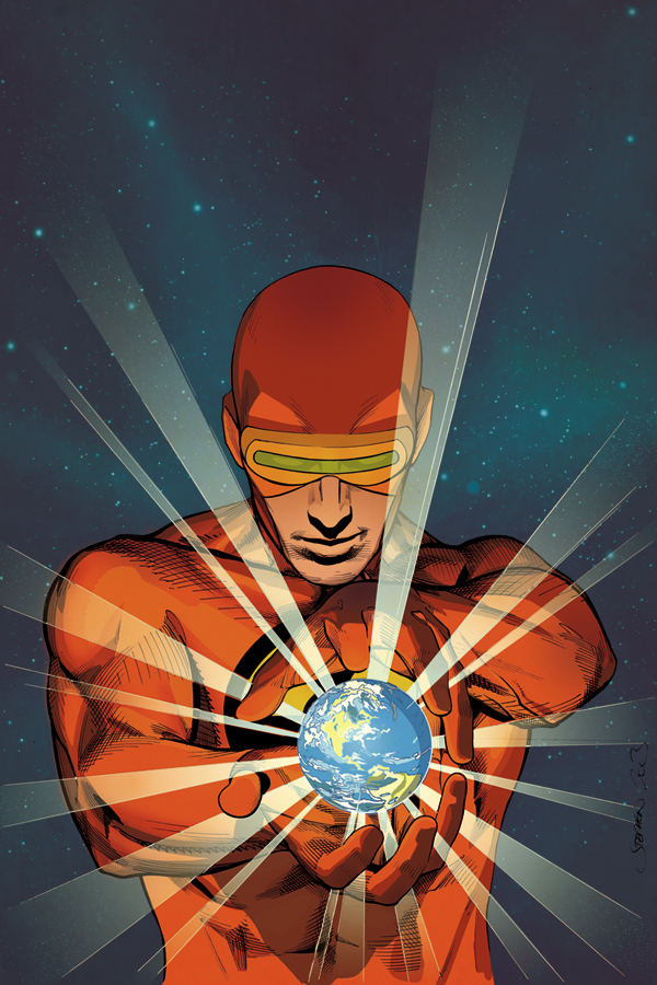 Solar: Man of The Atom #1 Variant by Stephen w/ Colours by Ruth Redmond