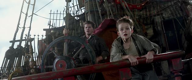 Hook and Peter in Pan 2015