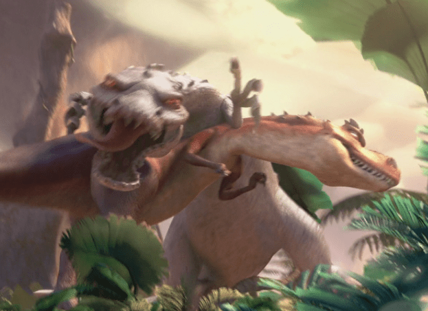 Ice Age Rudy Rex Fight
