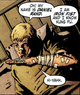 Danny Rand as The Immortal Iron Fist