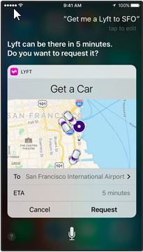 Third Party Apps Now Work With Siri