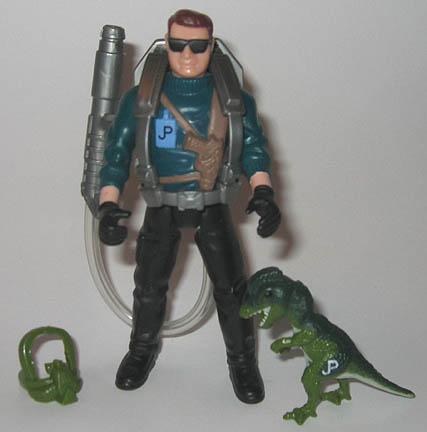 Jurassic Park Dennis Nedry toy