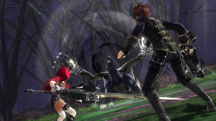 God Eater Rage Burst PS4