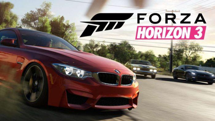 Forza Horizon 3 racing game