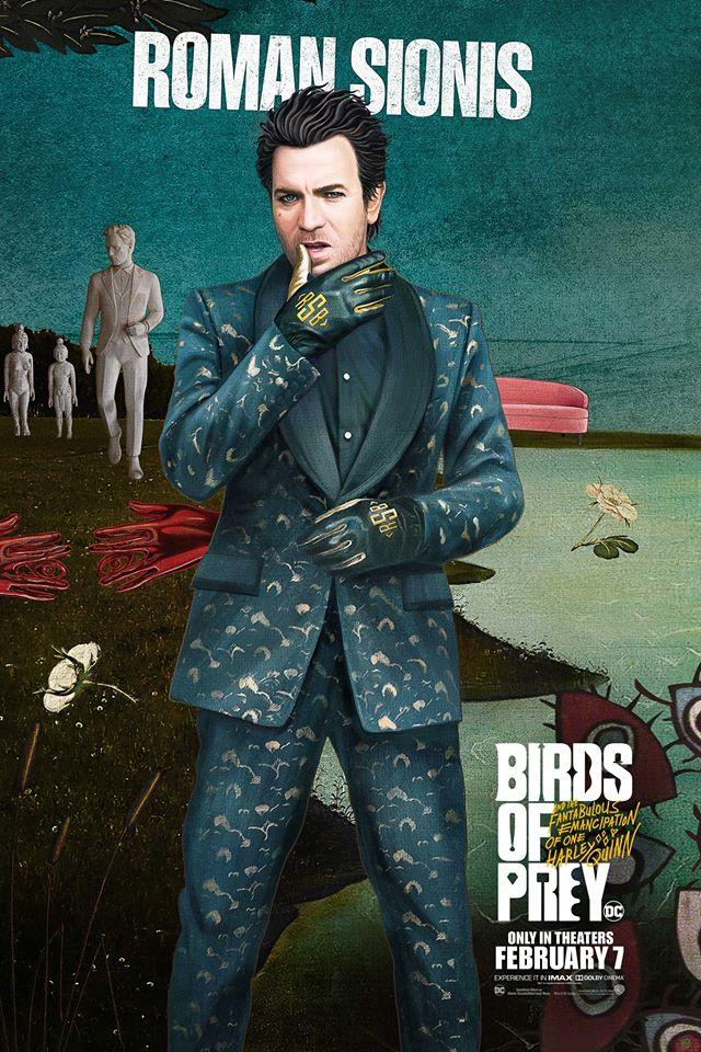 Roman Sionis birds of prey posters