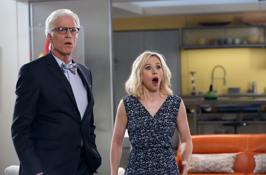 The Good Place: een mother forking shirtballs goede serie