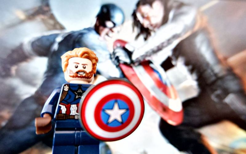 Captain America Wintersoldier voor Geekish MCU phase 2
