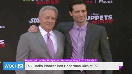 943388788-Talk-Radio-Pioneer-Ben-Hoberman-Dies-At-92
