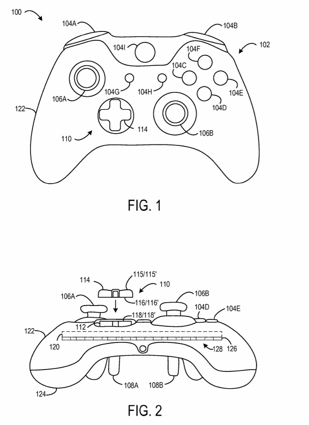 Microsoft has a patent showing off a Xbox Controller with