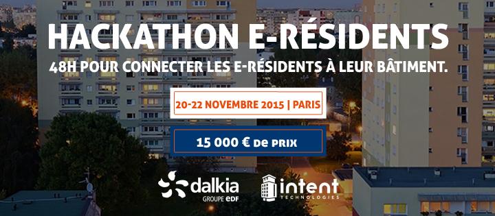 Hackathon eResident avec Dalkia et Intent Technologies