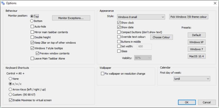 ZBar_Options