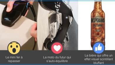 Photo of Le mini fer à repasser, la moto du futur par BMW, la bière qui scintille [#3innovations1minute]