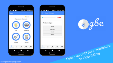 Photo of Egbe : l'application mobile pour apprendre le Guin (Mina)