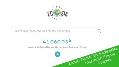 Photo of Ecosia : Planter des arbres grâce aux recherches sur Internet