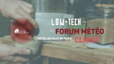 Photo of Exposition Low-tech Lab au Forum Météo Climat