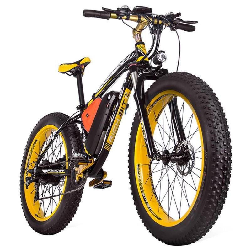 RICH BIT TOP-022 LCD Display Electric Mountain Bike - 1000W Motor ...